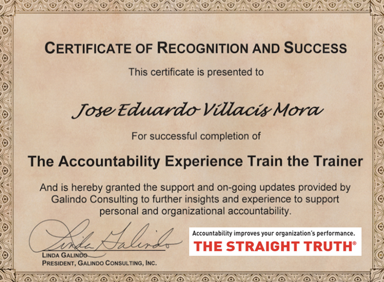 certificado accountability