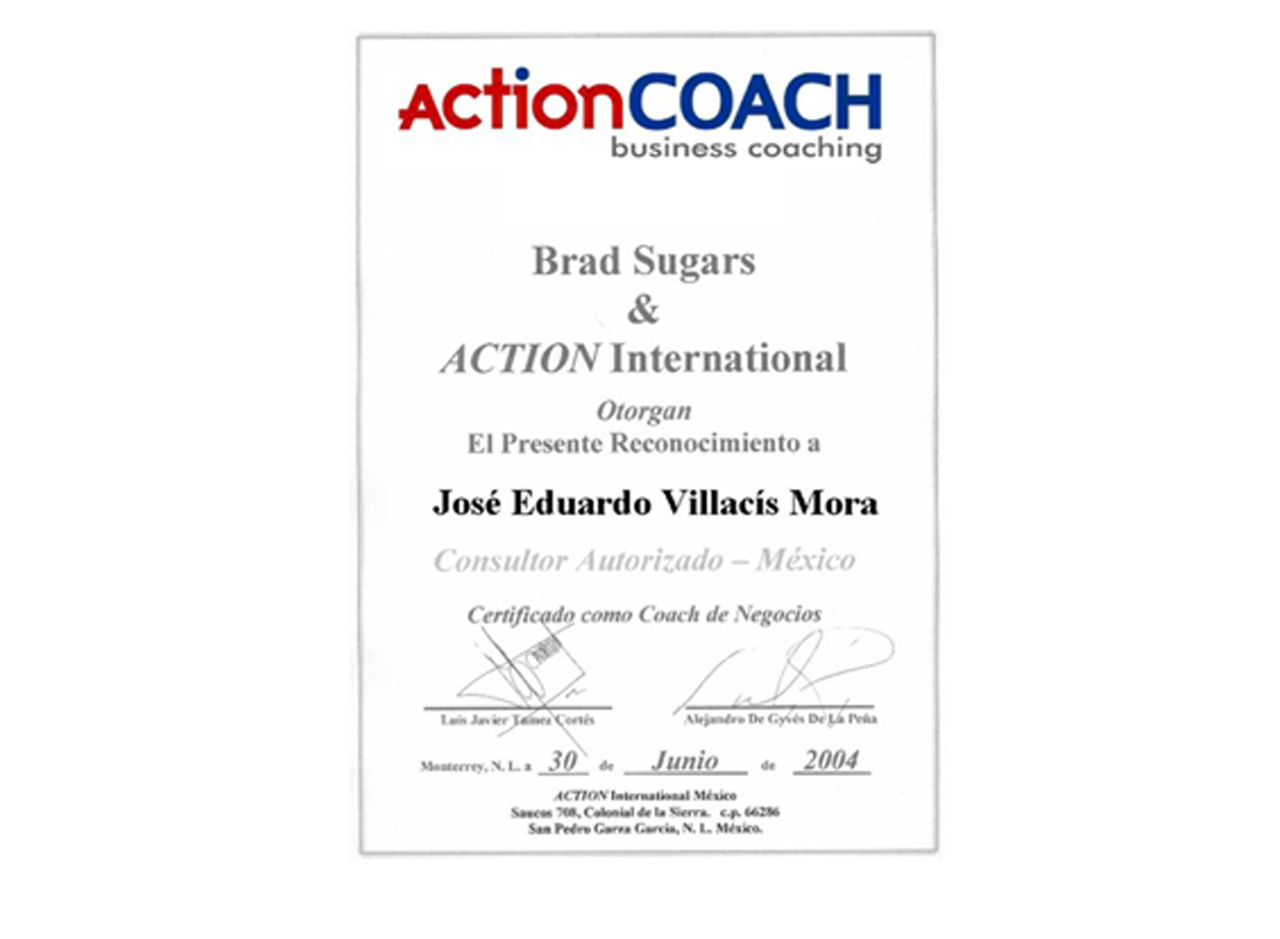 certificado action coach