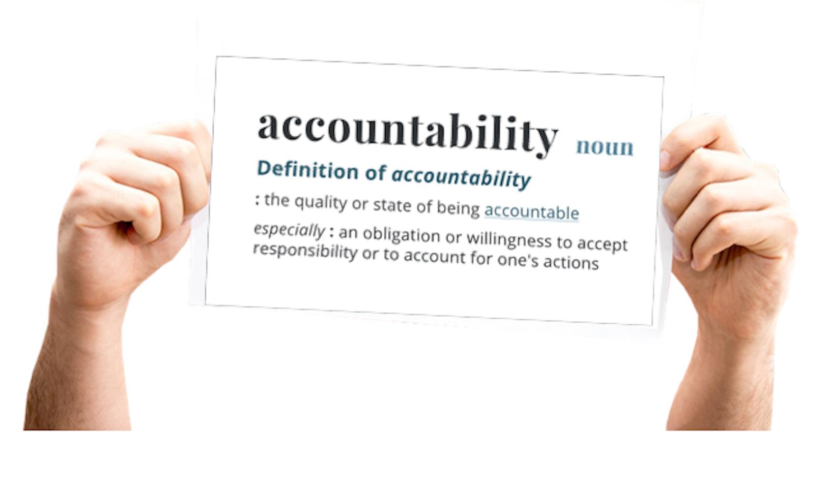 ACCOUNTABILITY: Una Decisión Personal que va más allá de la Responsabilidad