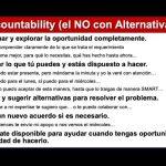 """VIVIR EN ACCOUNTABILITY:  APRENDIENDO A DECIR """"NO"""""""